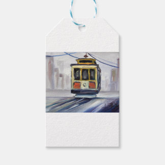 San Francisco Cable Car Gift Tags