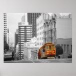 San Francisco Cable Car - Highlight Photo Art Poster