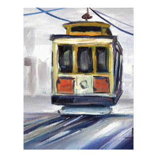 San Francisco Cable Car Letterhead