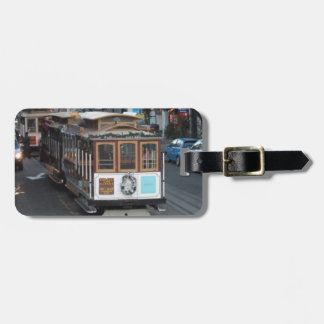 San Francisco Cable Car Luggage Tag