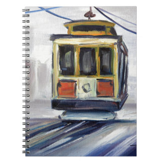 San Francisco Cable Car Notebooks
