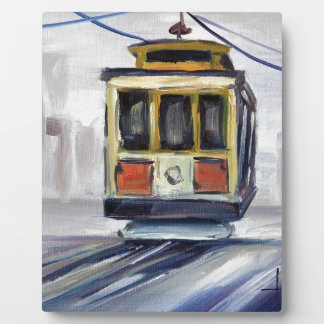 San Francisco Cable Car Plaque