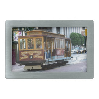 San Francisco Cable Car Rectangular Belt Buckle