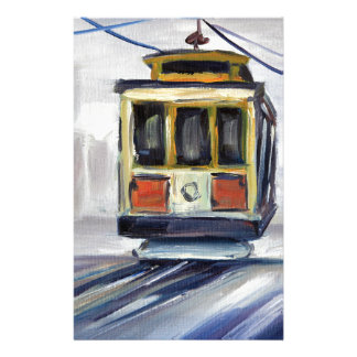 San Francisco Cable Car Stationery