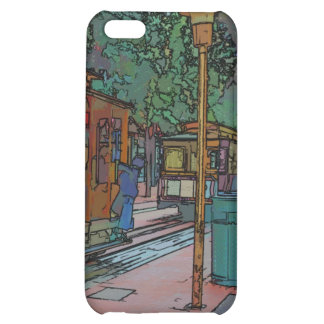 San Francisco Cable Car Stop iPhone 5C Covers