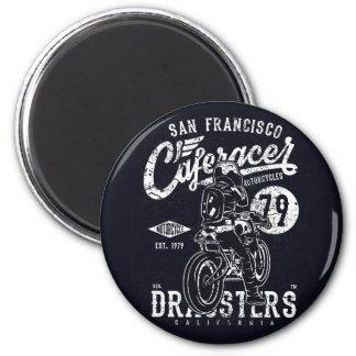 San Francisco Cafe Racer Motor California Magnet