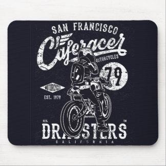 San Francisco Cafe Racer Motor California Mouse Pad