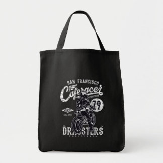 San Francisco Cafe Racer Motor California Tote Bag