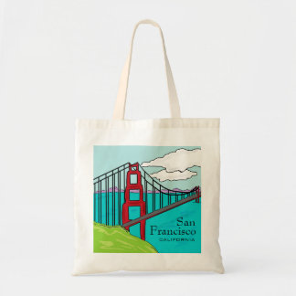 San Francisco Cali golden gate bridge bag