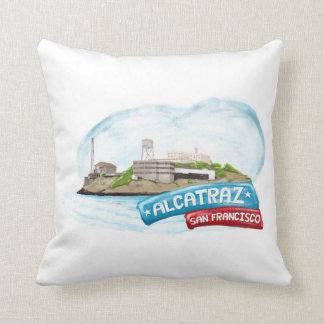 San Francisco Califorina Landmarks Throw Pillow