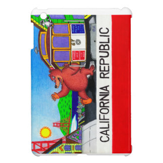 San Francisco California Bear Flag 2 Cover For The iPad Mini