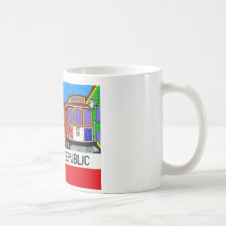 San Francisco California Bear Flag Coffee Mug