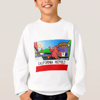 San Francisco California Bear Flag Sweatshirt