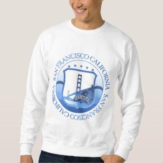 San Francisco California Blue Sweatshirt