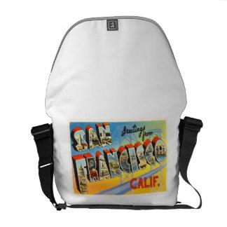 San Francisco California CA Old Travel Souvenir Commuter Bags
