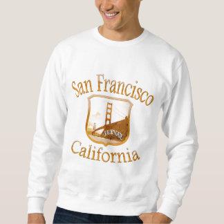 San Francisco California Gold Sweatshirt