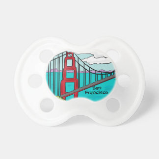 San Francisco California golden gate baby pacifier