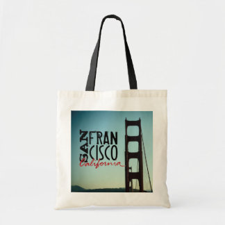 San Francisco California golden gate bridge bag