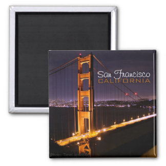 San Francisco California Golden Gate Bridge Magnet