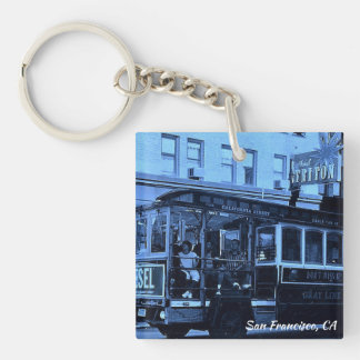 San Francisco, California Keychain