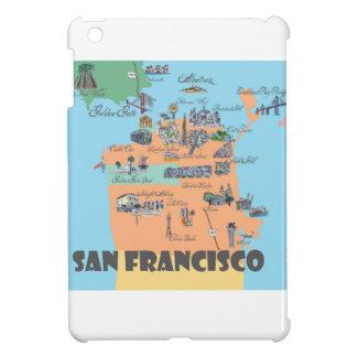 San Francisco California Map iPad Mini Case