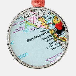 San Francisco, California Metal Ornament