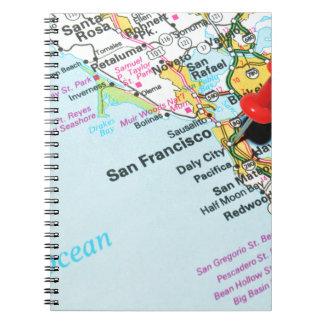 San Francisco, California Notebook