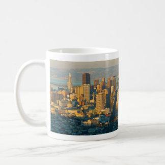 San Francisco California Panorama Sunset Coffee Mug