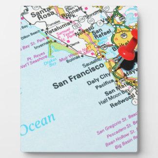 San Francisco, California Plaque