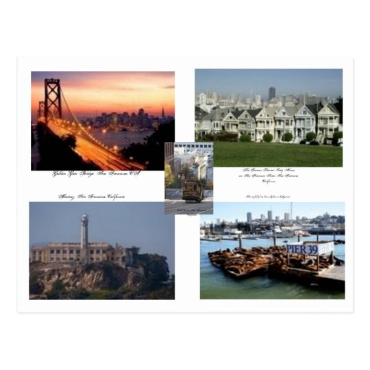San Francisco California Postcard