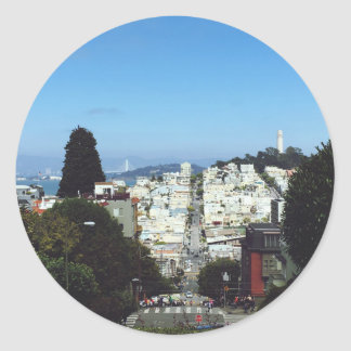 San Francisco California Sticker