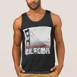 San Francisco California Tank Top for men