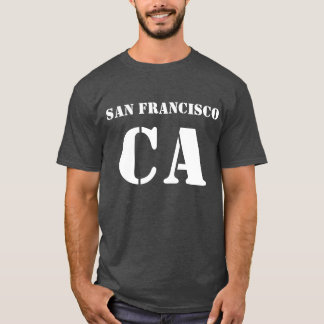 San Francisco California Tee Shirt