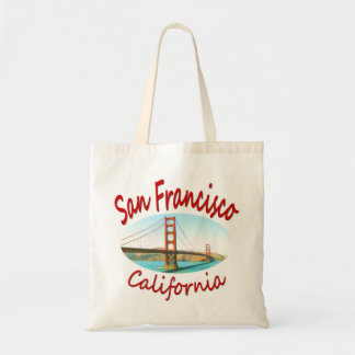 San Francisco California Tote Bag