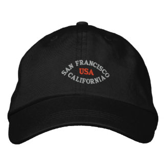 SAN FRANCISCO CALIFORNIA, USA EMBROIDERED HAT
