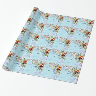 San Francisco, California Wrapping Paper