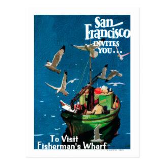 San Francisco, CaliforniaFisherman's Wharf Postcard