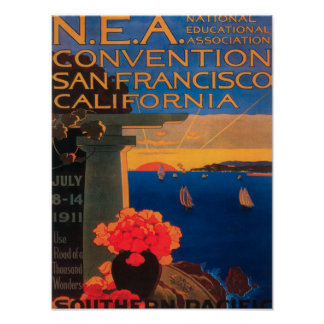 San Francisco, CaliforniaN.E.A. Convention Poster