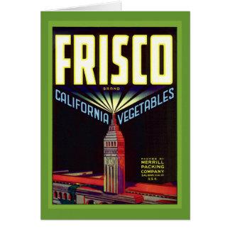 San Francisco Card