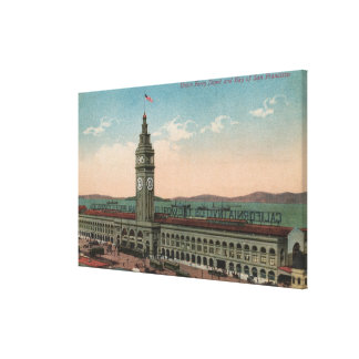 San Francisco, CAUnion Ferry Terminal Building Canvas Print