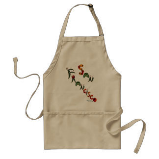 San Francisco Chili Peppers Aprons