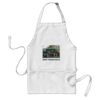 San Francisco China Town Standard Apron