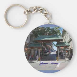 San Francisco Chinatown Gate Keychain
