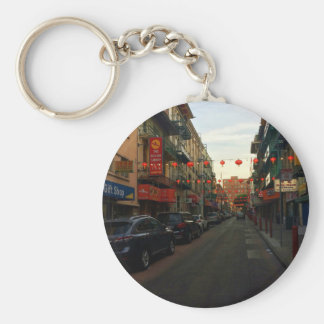 San Francisco Chinatown Lanterns #2 Keychain