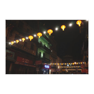 San Francisco Chinatown Lanterns #3 Canvas