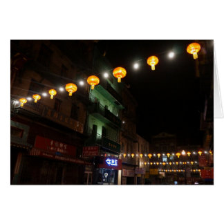 San Francisco Chinatown Lanterns #3 Card