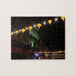 San Francisco Chinatown Lanterns #3 Jigsaw Puzzle