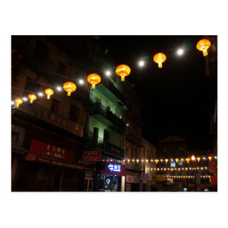 San Francisco Chinatown Lanterns #3 Postcard