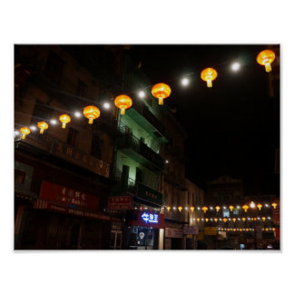 San Francisco Chinatown Lanterns #3 Poster