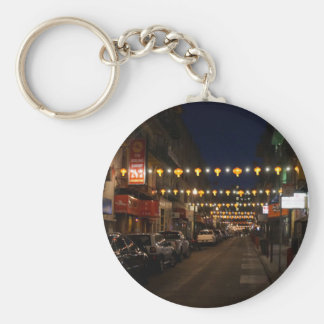 San Francisco Chinatown Lanterns Keychain